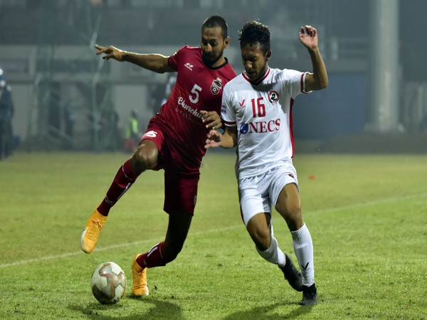Churchill Brothers play out a goalless draw against Aizwal FC. (Photo/ I-League)