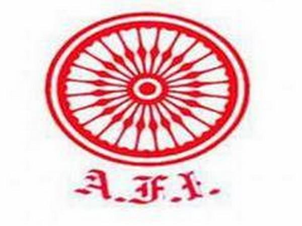 Logo of Athletics Federation of India (AFI)