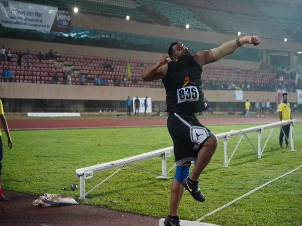 Tajinder Pal Singh Toor (Photo/Athletics Federation of India Twitter)