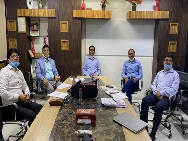 Mukesh Patel (MD), Kamlesh Patel (Chairman and MD), Rutvij C Parikh (Senior Director) and Praful Gatani (Director, Subsidiary)
