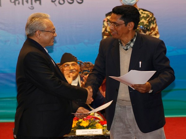 Ending years of conflict and violence, the Maoist- splinter group signed the peace agreement in Kathmandu on Friday amid a ceremony.