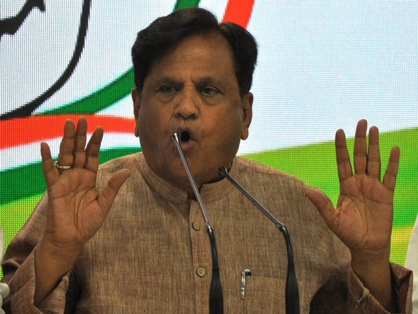 Congress leader Ahmed Patel (File photo)