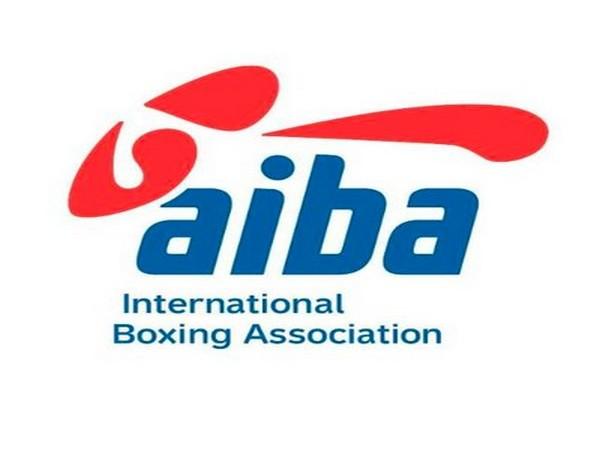 AIBA logo.