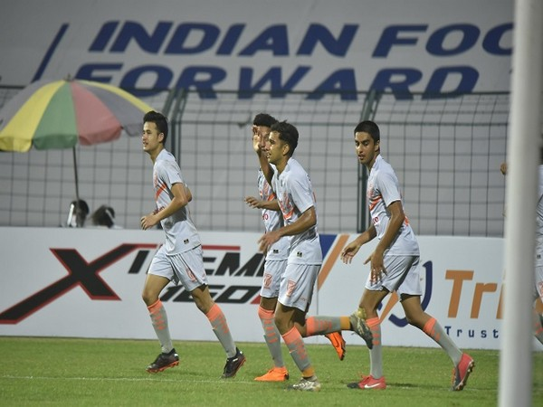 Indian Arrows held Aizawl FC to a 1-1 draw (Image: I-League Twitter)