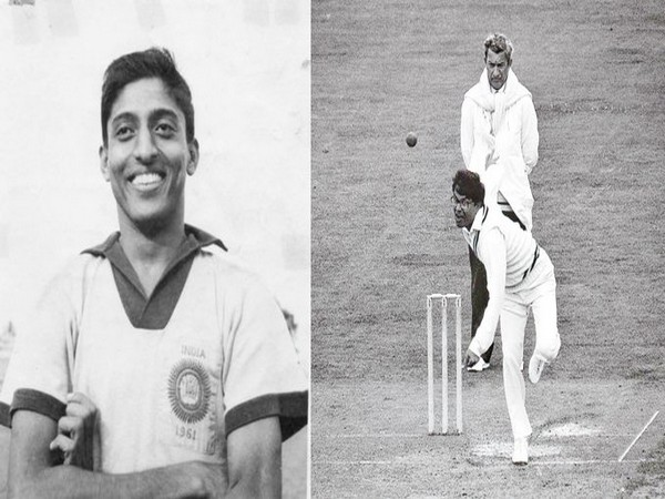 Late Subimal Goswami (L) and former spinner Dilip Doshi (R) (Photo/Indian Football Team Twitter)