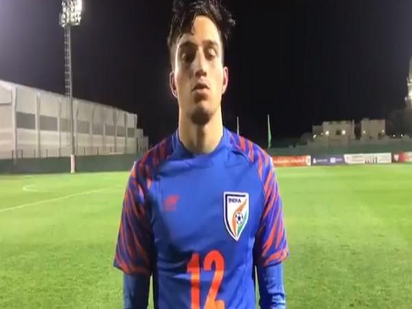 India Under-16 striker Sohail (Image: AIFF)