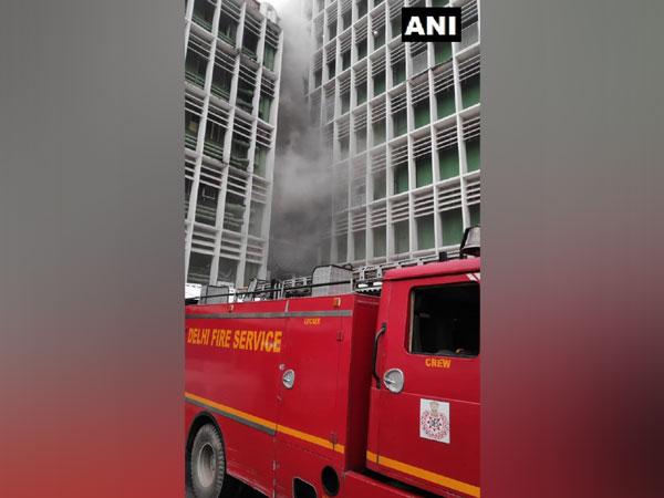 Visual from AIIMS in New Delhi on Saturday. Photo/ANI