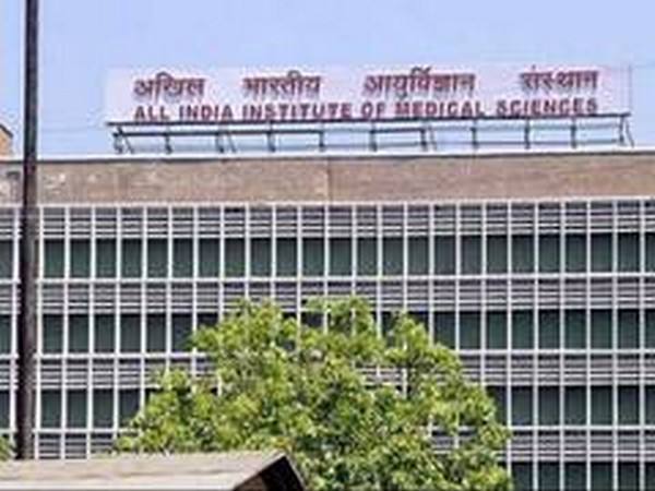 A view of All India Institute of Medical Sciences, New Delhi