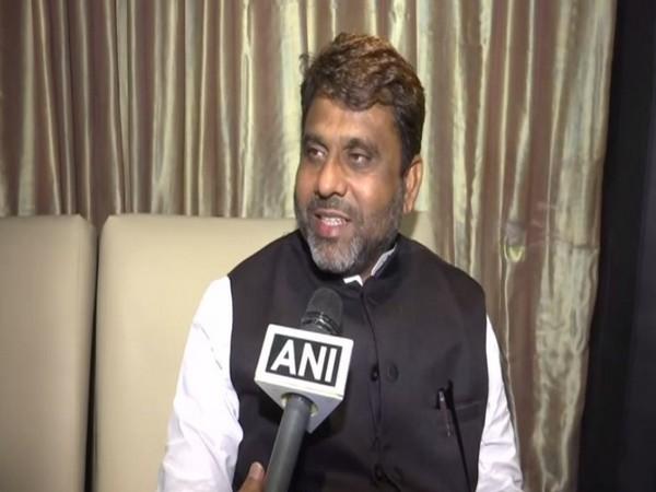 Bihar AIMIM chief Akhtarul Imam speaking to ANI in Hyderabad on Thursday.