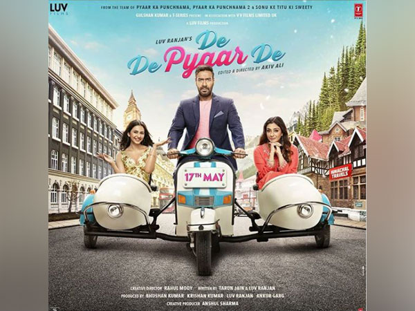 Poster of 'De De Pyaar De', Image courtesy: Instagram