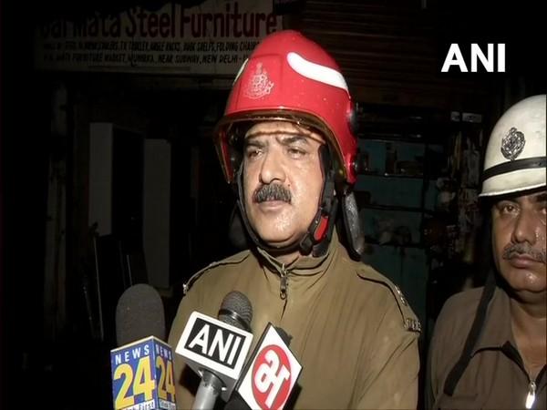AK Malik, Divisional Officer, Delhi Fire Services