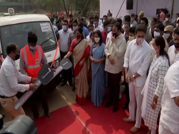 Visual from the flagging off event. (ANI)