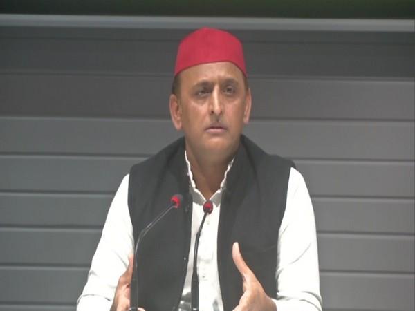 Samajwadi Party (SP) president and former Uttar Pradesh Chief Minister Akhilesh Yadav (File photo)