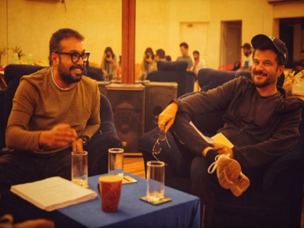 A still of actor Anil Kapoor and filmmaker Anurag Kashyap (Image Source: Instagram)