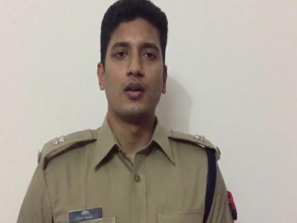 Abhishek, Superintendent of Police (SP), City Aligarh. Photo/ANI