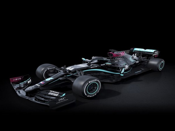 Mercedes will race in black in the 2020 season as a public pledge to improve the diversity of its team (Photo/Mercedes-AMG F1 Twitter)