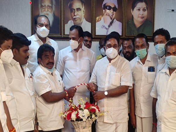 Sattur AIADMK MLA Rajavarman joined the  TTV Dhinakaran's Amma Makkal Munnetra Kazhagam (AMMK) on Thursday in Chennai.
