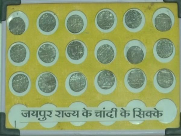 Old coins exhibition in Bhopal, Madhya Pradesh. (Photo/ANI)