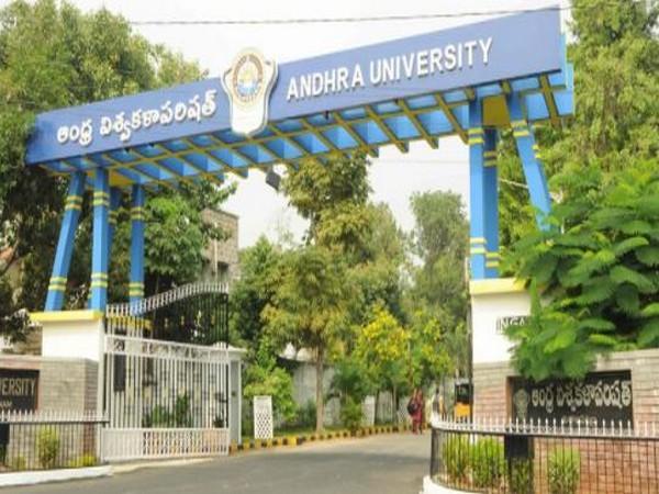 Visual of Andhra University (Photo/ANI)