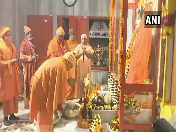Yogi Adityanath worshiping Lord Gorakhnath on Makar Sankranti