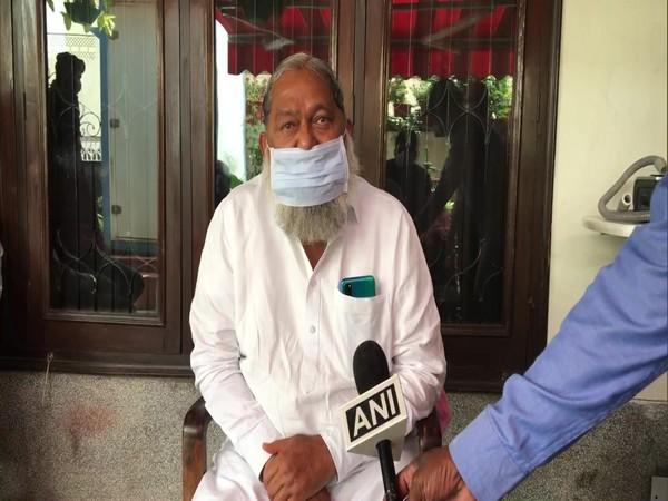 Haryana Health Minister Anil Vij (Photo/ ANI)