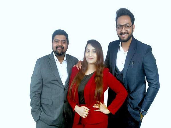 Arhaan Shaikh, Jyoti Papani, and Jay Shah at the launch of Brand Card