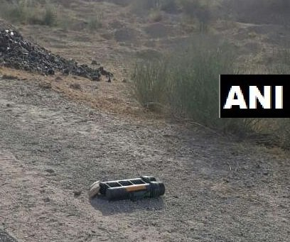 A live mortar bomb was found near Nal-Bikaner Air Force Station on Wednesday. Photo/ANI