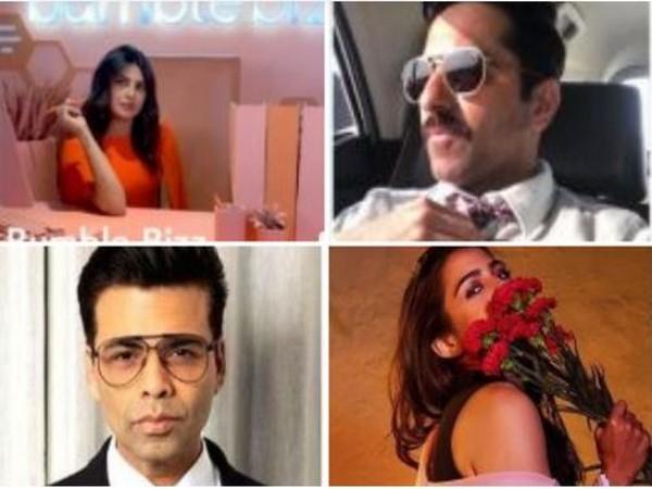 Priyanka, Ayushmaan, Karan Johar, Sara and more takes up the #DollyPartonChallenge