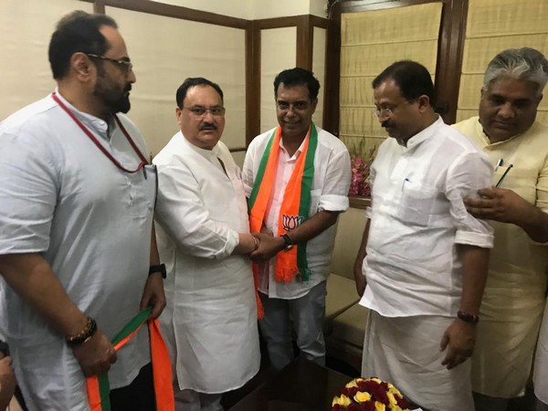 AP Abdullakutty joining BJP in presence of party working president JP Nadda (Photo/ANI)