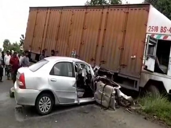 Visual from the site of accident in Kadapa district on Monday. Photo/ANI