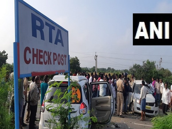 The accident took place near the Garikapadu check post in Krishna District, Andhra Pradesh on Sunday.