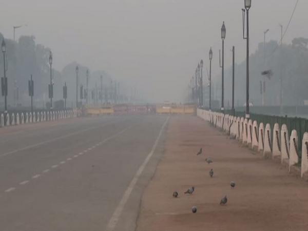 Visuals near India Gate, New Delhi (Photo ANI)