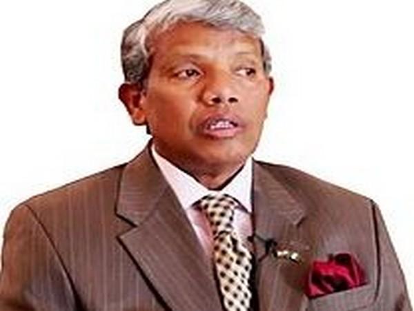 Former Indian diplomat AR Ghanashyam.