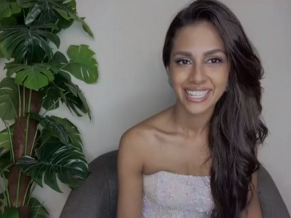 Miss Universe third runner up Miss Adline Castelino