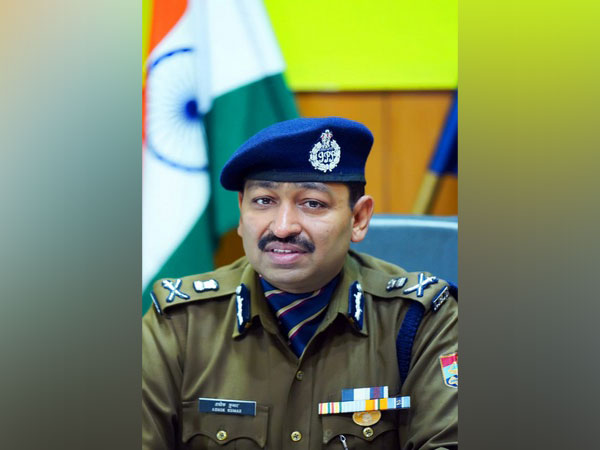 Ashok Kumar, DG Law and Order, Uttarakhand. (File Photo/ ANI)