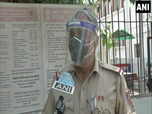 Assistant Sub-Inspector (ASI), Rakesh Kumar. (Photo/ANI)