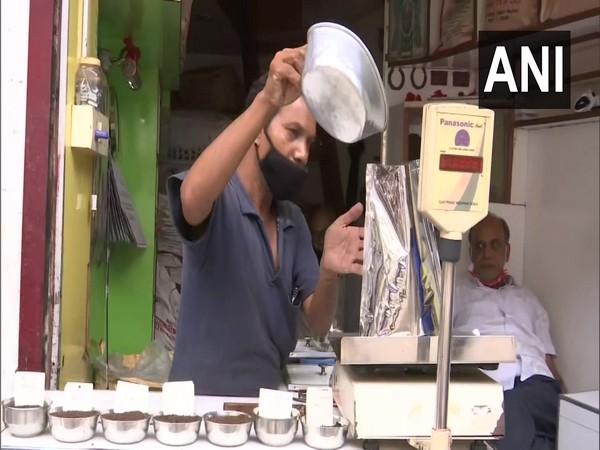 A tea leave seller in Assam's Guwahati (Photo/ANI)