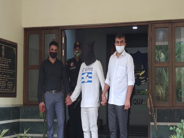 ATS arrests wanted accused Shahid Kasam Sumra. (Photo/ANI)