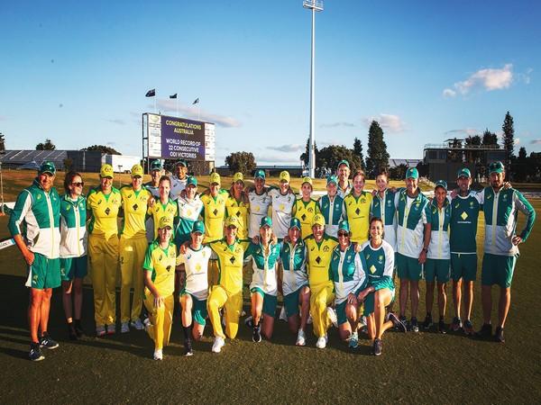 Australian team (Photo/ ICC Twitter)
