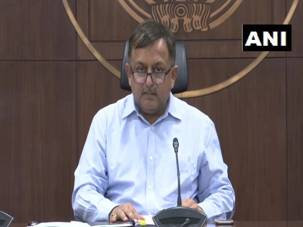 Uttar Pradesh Additional Chief Secretary (Home), Awanish Awasthi addressing press conference in Lucknow on Thursday  Photo/ANI