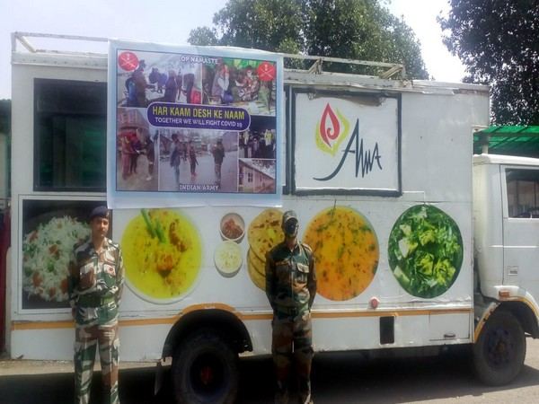 Army Wives Welfare Association prepared 2,500 food packets for migrant labourers