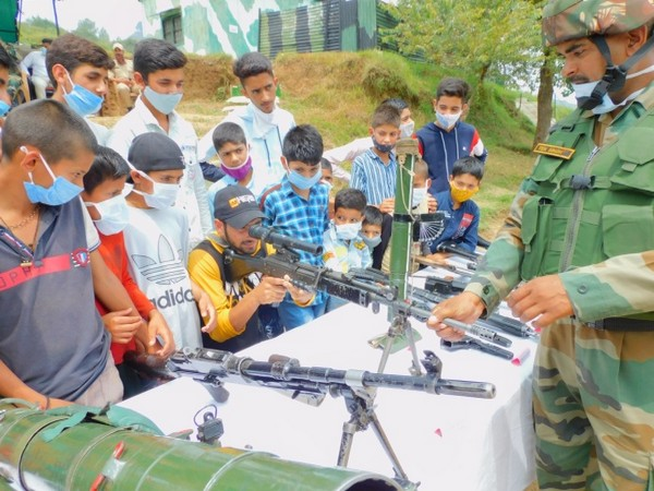 Visual from 'A Day in Army Camp' at Jammu and Kashmir's Rajouri district