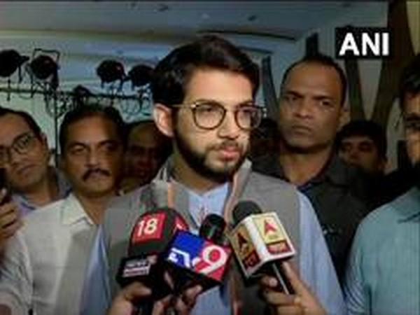 Shiv Sena leader and Cabinet Minister Aaditya Thackeray