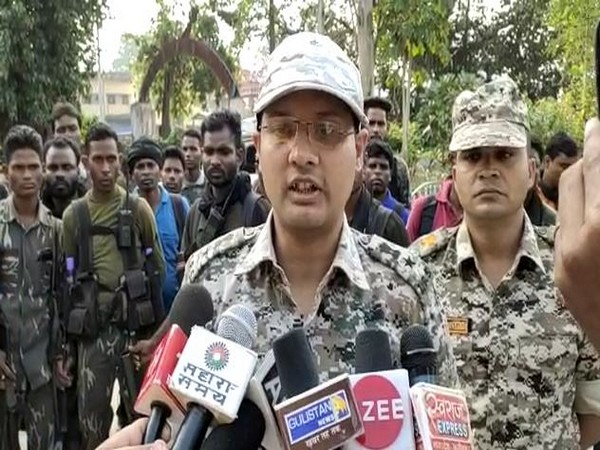 Superintendent of Police Abhishek Pallav