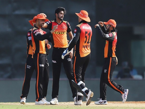 SRH chased down the target with 8 balls to spare. (Image: BCCI/IPL)