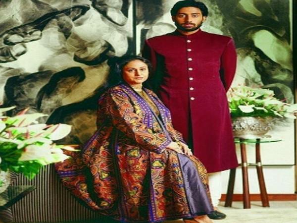 Veteran actor Jaya Bachchan with son and actor Abhishek Bachchan (Image Source: Instagram)