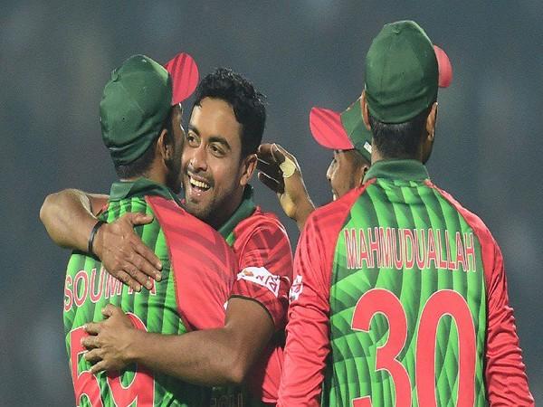 Bangladesh fast bowler Abu Jayed (Photo/ICC twitter)