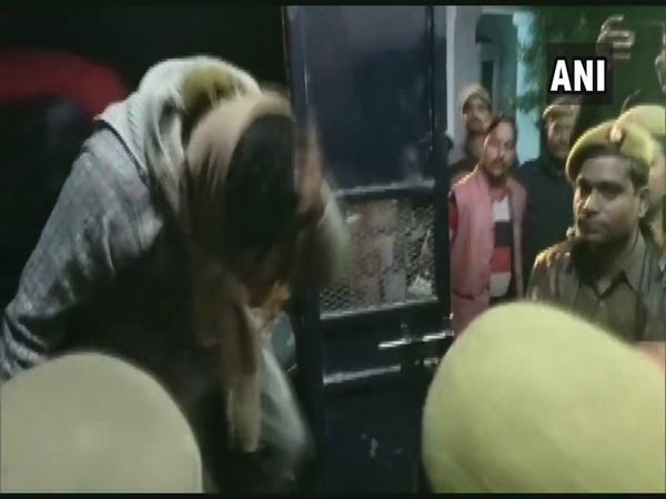 The Unnao rape case accused being taken to jail in Uttar Pradesh. (Photo/ANI)