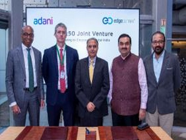 AdaniConneX, a new data centre joint venture formed between Adani Enterprises and EdgeConneX.