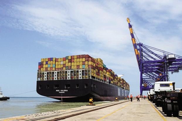 APSEZ's 10 ports and terminals represent 24% of India's total port capacity